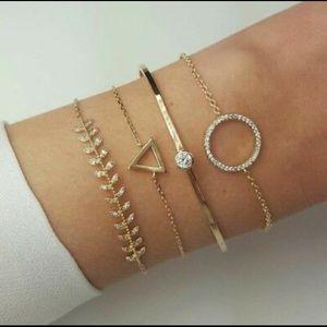 🍃 Grazia 4-Layer Bracelet Set